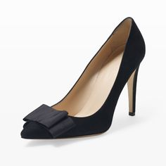 Jamie Bow Pump - Heels Shoes from Club Monaco Canada