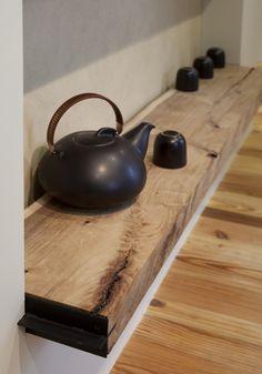 Meditation space - tea ritual.  Designed by Siol Studios