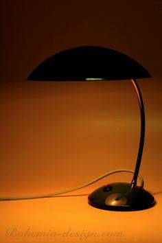 Stolní lampa modrá, 60. léta