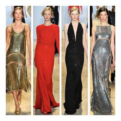 Michael Kors fall 2012 ready to wear. The evening wear was stunning as always. Nice use of small cutouts and a consistent color palette revolving around iconic micheal kors camel