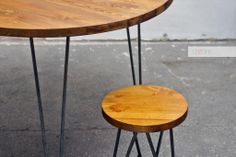 Stół okrągły pub pab Vintage Loft Industrial