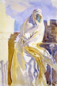 Arab Woman - John Singer Sargent  ~1906