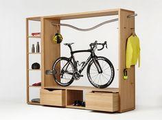 Deze gadget voor je fiets bespaart je veel ruimte!
