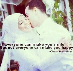Happy Cute Love Quotes, Great Quotes, Make You Smile, Are You Happy, Muslim Couples, Husband, Life