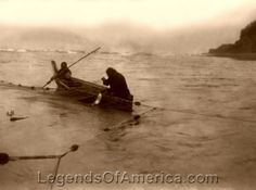 Quinault Indians Fishing