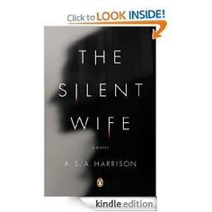"""Could not put book down.  Examines the lives of a """"married"""" couple.  Each chapter alternates between he/she.  Needless to say, they could be a great psychological study."""