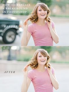 How to easily replace the background of an image in Photoshop CC http://www.luxseniorphotography.com/blog/photoshop-tutorial-how-to-replace-a-background-easily