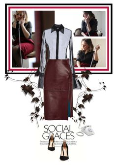 """""""Capricciosa"""" by theitalianglam ❤ liked on Polyvore featuring GF Ferré, By Malene Birger, Gianvito Rossi, outfit, classy, fashionblogger and trends"""