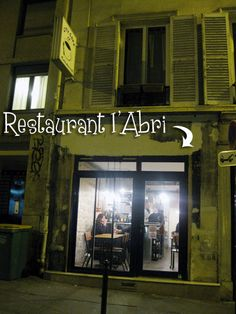Abri has become one of the toughest reservations in Paris. It's also quite possibly the craziest restaurant in Paris, just slightly larger than a shoe box, and the open kitchen, set on a raised platform to one side of the narrow space, looks as if it belongs in a diner. The staff is all Japanese, none of them speak English and their French is pretty spotty, too. (Not that it matters; they almost never pick up the phone or respond to emails. I got in only because I stopped by one afternoon…