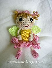 Ravelry: ASE's Flower Fairy pattern by Anita Elmore  free pattern