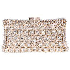 Fawziya® Luxury Crystal Clutch Purse Rhinestone Evening Bag-Gold Fawziya http://www.amazon.com/dp/B00T9CWFEY/ref=cm_sw_r_pi_dp_UbVLwb1KZMT8N
