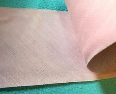 Pink Cotton Trim small width 4 inches   5 yards