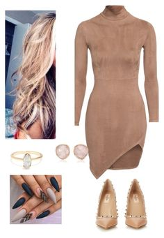 """""""Untitled #71"""" by amanda-nielsen on Polyvore featuring Valentino and Monica Vinader"""