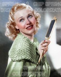 GINGER ROGERS WITH MIRROR 8X10 BEAUTIFUL COLOR PHOTO BY CHIP SPRINGER . Please visit my Ebay Store at http://stores.ebay.com/x5dr/_i.html?rt=nc&LH_BIN=1 to see the current listings of your favorite Stars now in glorious color! Message me if you would like me to relist your favorites. Check out my New Youtube videos at https://www.youtube.com/channel/UCyX926rA5x4seARq5WC8_0w