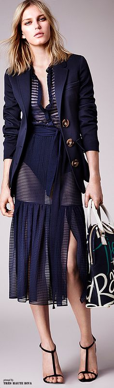 Burberry Prorsum Resort 2015                              …