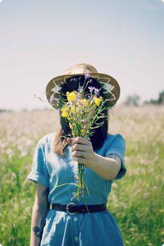 Wildflower Fields | finchandfawn.blogspot.com