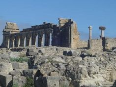 Volubilis --- Day 2  The Roman ruins contain a victory arch, impressive basilica and spectacular mosaics.