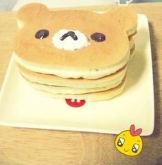 Rilakkuma pancakes!