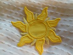 TANGLED  SUN Patch by Sewpplies on Etsy https://www.etsy.com/listing/116082945/tangled-sun-patch