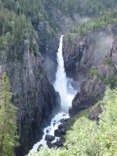 Rjukanfassen Waterfall, Norway