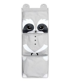 Canvas Wall Hanger | Light gray/racoon | Home | H&M US
