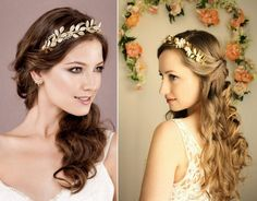 Trending: Greek style hair accessories on your engagement | WedMeGood