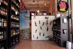 """""""El muro"""" Inmortalizamos algunas de nuestras cervezas favoritas incrustando las en la eternidad"""