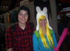 Comic con marshall lee and fiona