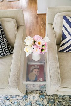 LaurenConrad.com Room Makeover