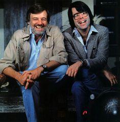 Stephen King & George A Romero.