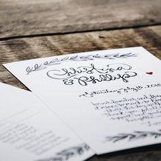 Christina & Phillip | Wedding stationery