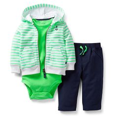 Boscovs Baby Boy (NB-24M) Carter's 3pc. Cardigan Set 19.20