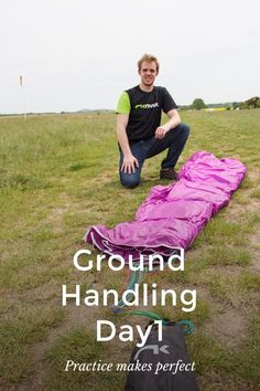 Ground Handling Day1 Practice makes perfect Proudly flying Niviuk Paragliding Gear Attaching the Hook 3 glider to the Hamak 2 harness What is Paragliding? Paragliding for me is the true definition of freedom. I've always been fascinated with flight and the