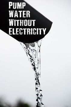 Pump Water Without Electricity - If SHTF you could experience a drastic disruption to your water supply. Given the importance of water for survival, having a reliable source of water after a disaster needs to be one of your main priorities. Even worse, if