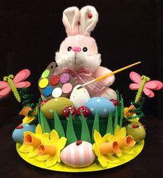 Easter Bonnet — Preparing for the Hunt Easter Tree, Easter Eggs, Easter Bonnets, Easter Crafts, Fun Crafts, Easter Hat Parade, Egg Hunt, Design Crafts, Holiday Fun