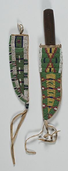 beaded blanket strip | American Indian Art > .Plains > Beadwork & Quillwork