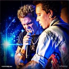 Looking forward to gigging with @BillyMorrison the man who loves touring well we're going out again Billy THE TWO BILLY's in action!