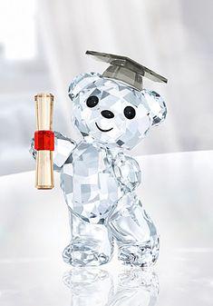 Swarovski Crystal Kris Bear The Graduate Swarovski Crystal Figurines, Swarovski Jewelry, Swarovski Crystals, Cute Jewelry, Glass Jewelry, Stylish Jewelry, Jewelry Bracelets, Fashion Jewelry, Cristal Art