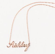 Personalized #Nameplate by #ThreeSistersJewelry for RH TEEN