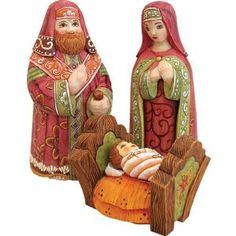 Russian carved wood
