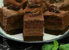 Prajitura Cleopatra cu ciocolata , regina prajiturilor - Adygio Kitchen