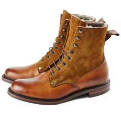 PRIVATE WHITE VC > Cheaney Scott Boots, Almond