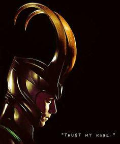 """Trust my Rage."" Loki Thor: The Dark World"