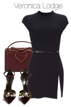 A fashion look from October 2017 featuring slimming tops, heel pump and burgundy purses. Browse and shop related looks. Casual School Outfits, Professional Outfits, Preppy Outfits, Chic Outfits, Veronica Lodge Fashion, Veronica Lodge Outfits, Girls Fashion Clothes, Teen Fashion Outfits, Womens Fashion