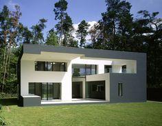 Wohnhaus in Karlsruhe | Baden-Württemberg, Germany | Meixner Schlüter Wendt.  nice site 4 ext'rs.  no plans