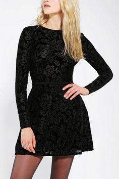 DV By Dolce Vita Azalia Burnout Velvet Dress  I love the sillohette, but not the rest of it