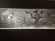 「アリス・イン・ワンダーランド/時間の旅」黒板アート