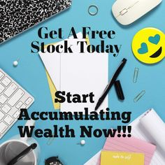 There's Free Stock Waiting For You Investing Apps, Investing In Stocks, Budgeting Worksheets, Budgeting Tips, Total Money Makeover, Financial Instrument, Investment Advice, Cryptocurrency Trading, Saving For Retirement