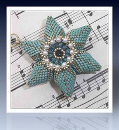 bluepearls Perlen: Triangle Star