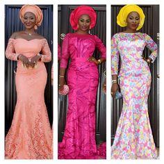 Be A Fashion Trendsetter In These Breathtaking Aso-Ebi Styles! - Wedding Digest NaijaWedding Digest Naija